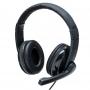 Headset Pro Multilaser USB Preto/Cinza PH317