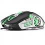 Mouse Gamer Multilaser 2400DPI 6 Botões Grafite/Preto