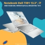 Notebook Dell Inspiron 7391 I7-10510U 8GB DDR4  SSD 512GB GeForce MX250 2GB GDDR5 13.3 FHD Windows 10 Home
