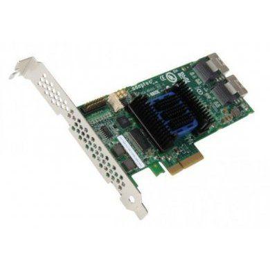 Adaptec RAID 6805E Storage Controller 2270900-R Com cabo de dados