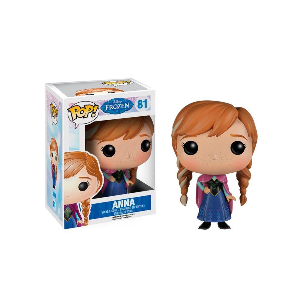 Boneco Colecionável Anna Frozen Funko Pop Disney #81