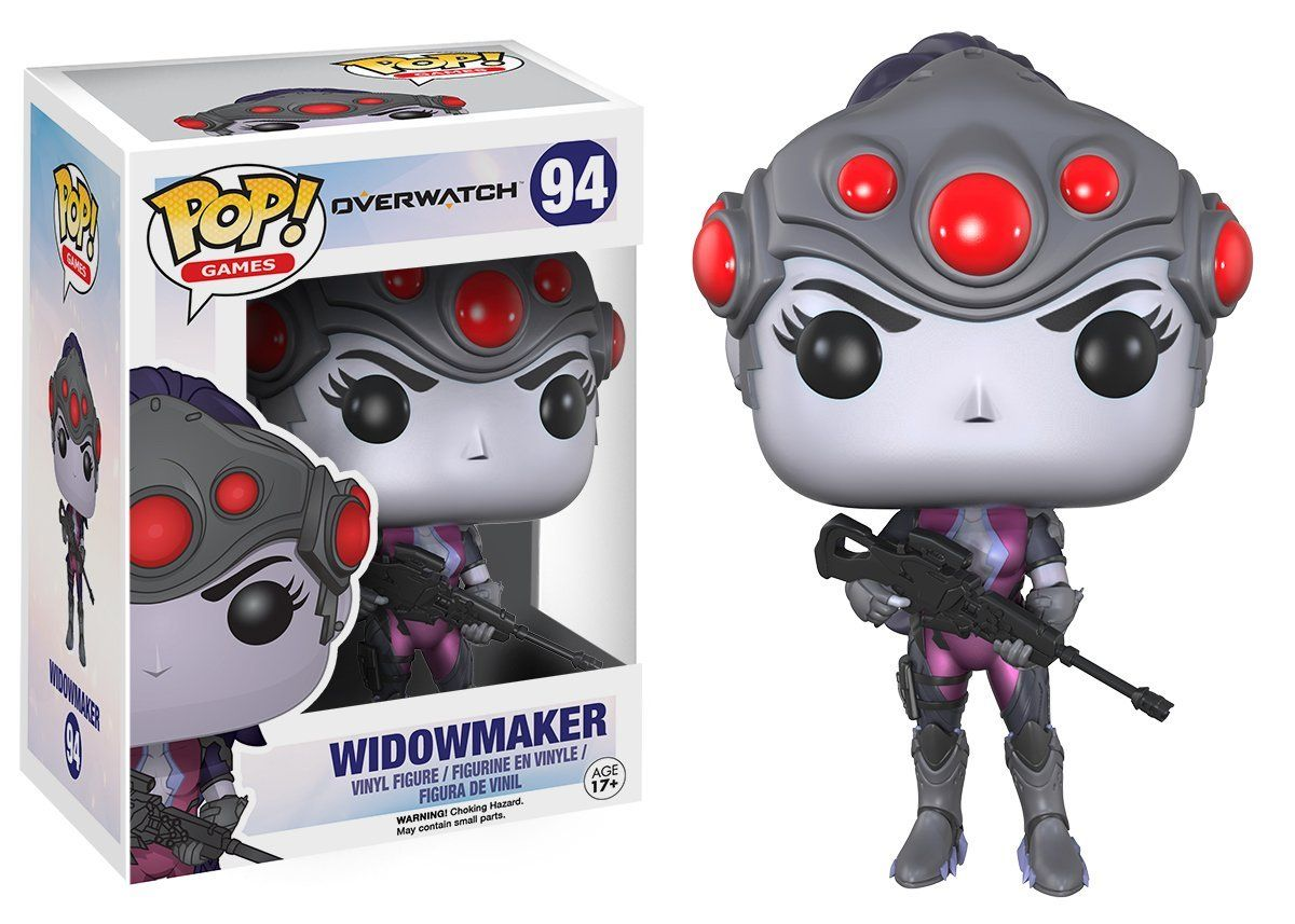 Boneco Colecionável Overwatch Widowmaker Funko Pop #94
