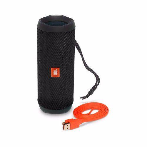 Caixa de Som Bluetooth JBL Flip 4 Black