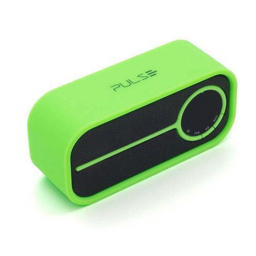 Caixa de Som Bluetooth Multilaser Color Series Verde SP208
