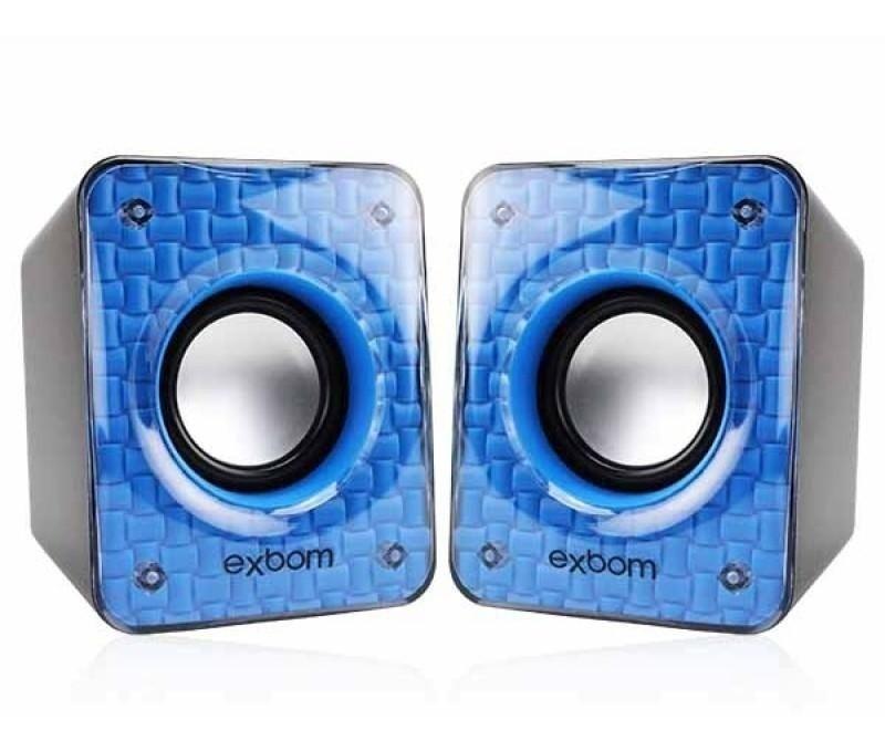 Caixa de Som Exbom Smartphone/Computador 6w  CS-86 sortidas as cores