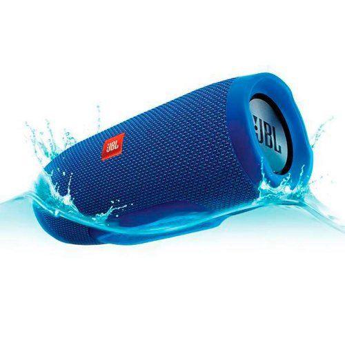 Caixa de Som Portátil JBL Charge 3 Buetooth Azul