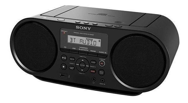 Caixa de Som ZS-RS60BT CD Boombox