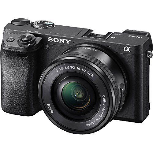 Camera Sony 4k ILCE 6300/B Interchangeable + Lente SEL-35F18 ILCE-6300
