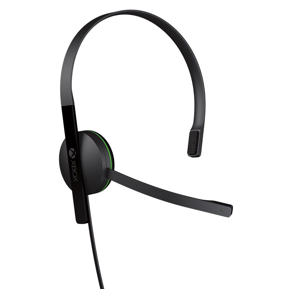 Fone De Ouvido Xbox One Chat Headset