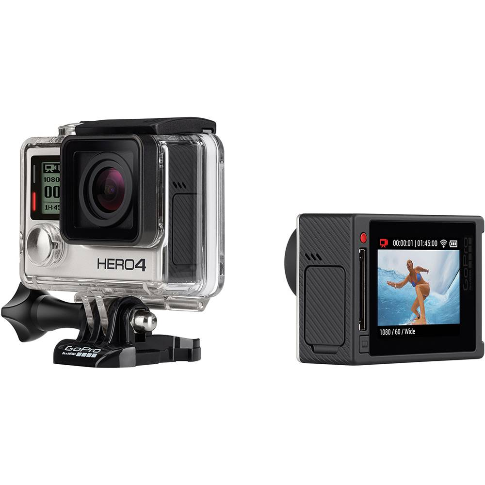 GoPro Hero 4 Silver Camera Digital Full HD 12 Mp