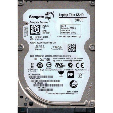 HD 2,5 Seagate HYBRIDO SSHD 500GB