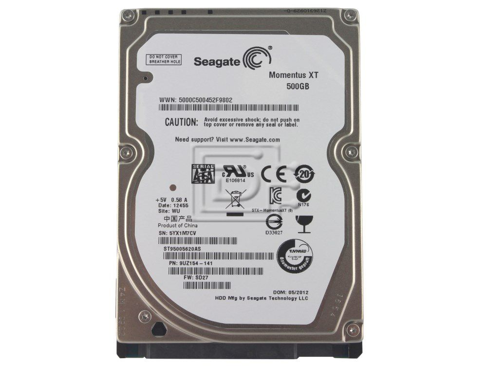HD 2,5 Seagate Momentus 500GB 7200RPM