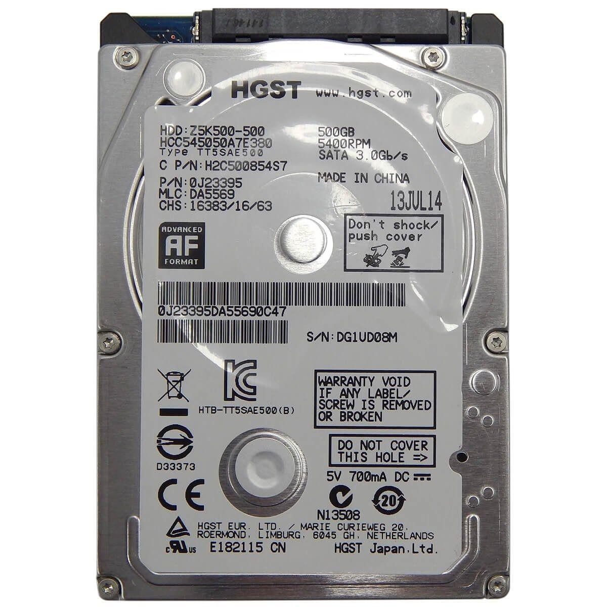 HD Hitachi 2,5 500GB 5400 RPM 7 Milimetro