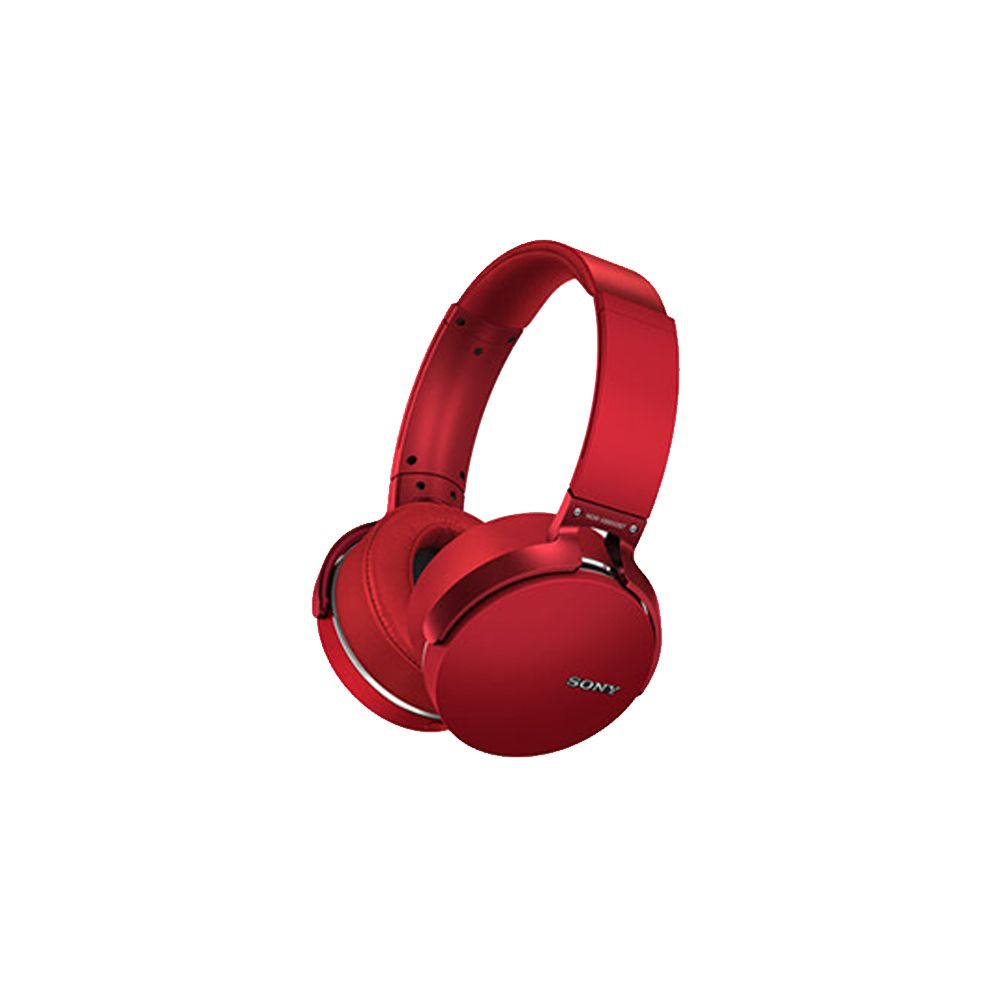 Headphone Sony MDR-XB950BT - Vermelho | Extra Bass, Bluetooth - OEM