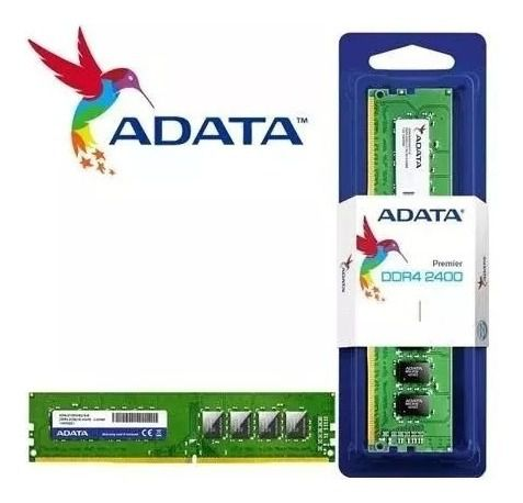 Memoria A-DATA 4GB 2400MHz DDR4 DIMM CL17 AD4U2400W4G17-S