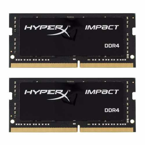 Memoria Notebook 16GB 2400MHz DDR4 Kingston Hyperx Impact Kit (2x8)