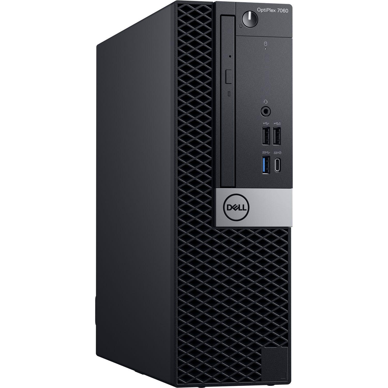 Microcomputador Dell Optiplex Small 7060 i7-8700| 16GB DDR4| HD 1TB| DVD| AMD Radeon R5 430 2GB| Win 10 Pro