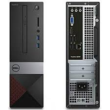 Microcomputador Dell Vostro 3470 I3-8100| 4GB| HD 1TB| DVD| Win10 Pro