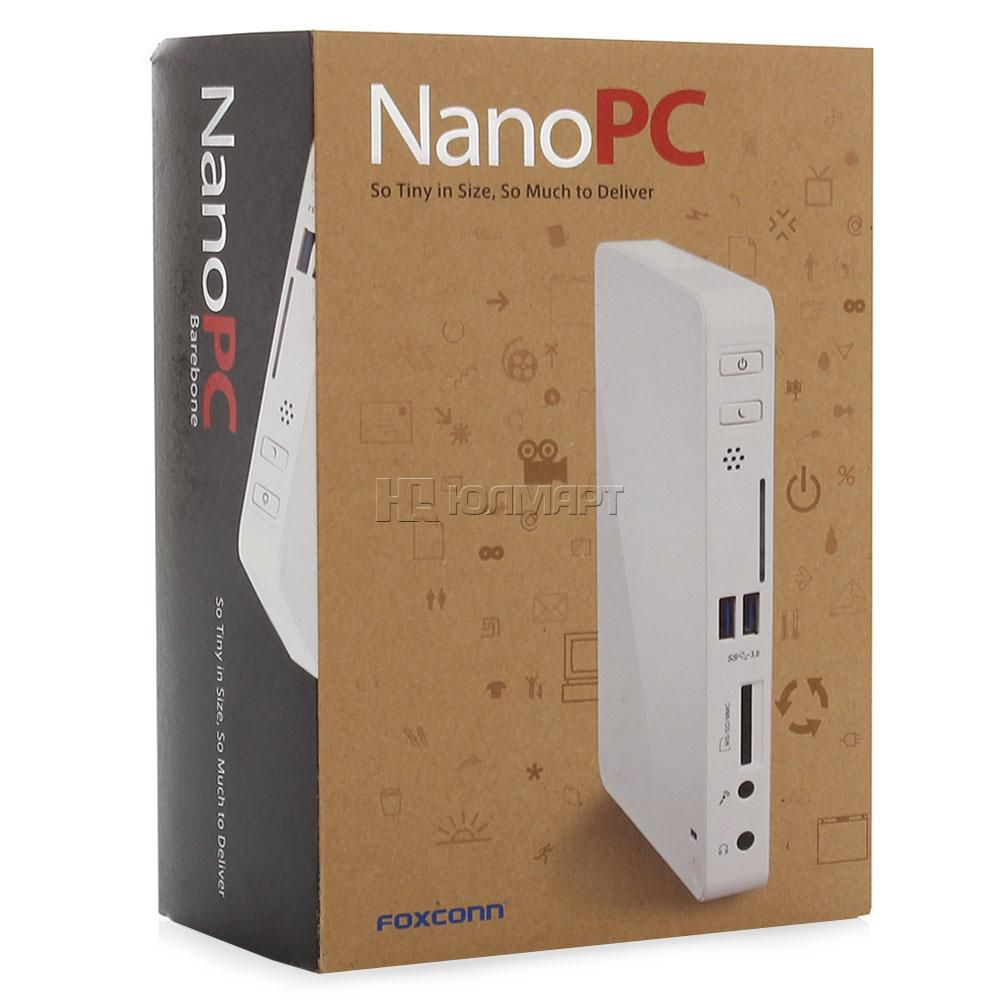 Mini Pc Nano Barebone Quad Core J1900| 4GB DDR3| HD 500GB| Win10 Pro
