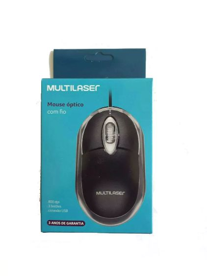 Mouse Classic Box Multilaser USB