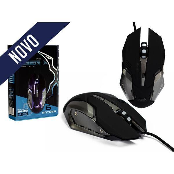Mouse Gamer Com Fio Knup KP-V19 - 2400dpi