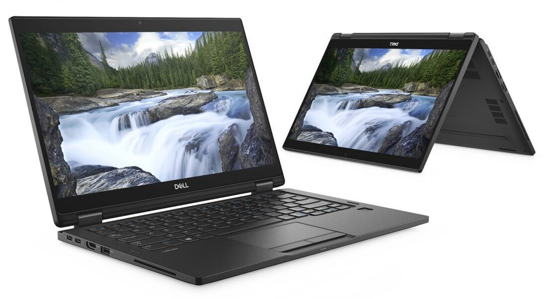 Notebook 2in1 Dell Latitude 7390 i5-8350| 8GB LPDDR| SSD 128GB| 13.3 FHD |Touch| Win10 Pro