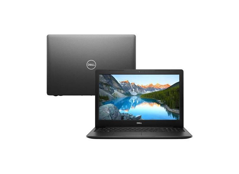 Notebook Dell Inspiron 3583 i7-8565U 8GB DDR4 HD 2TB 15.6 FHD Win10 Home