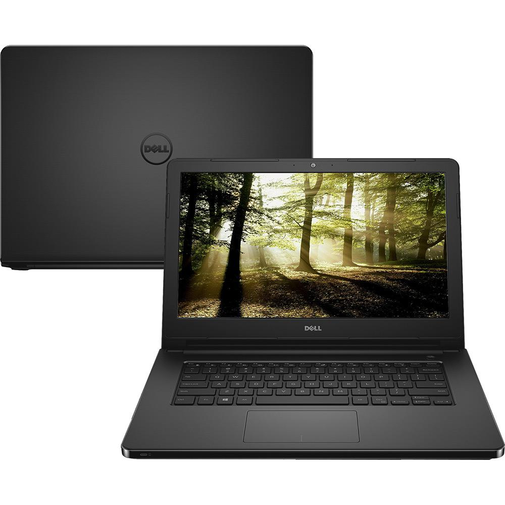 "Notebook Dell Core i3 Inspiron 5458 4GB HD 500GB Grav DVD 14"" Win10"