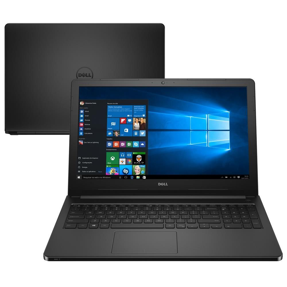 Notebook Dell Inspiron 5566 i3-6006| 4GB DD4| HD 1TB|15,6| Win10 Home