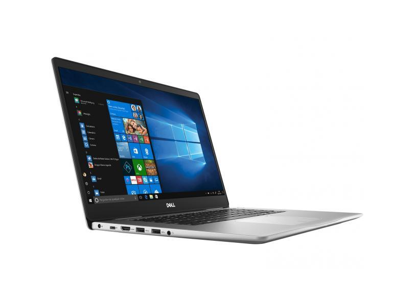 Notebook Dell Inspiron 7580 i7-8565U 16GB DDR4 HD 1TB SSD 128 GeForce MX150 2GB GDDR5 15.6 FHD Win10 Home