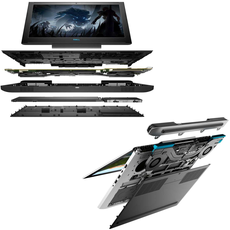 "Notebook Gamer Dell G7-7588-M40P 8ª Ger. Intel Core i7 16GB 1TB + 256GB SSD Placa Vídeo Nvidia GTX 1060 6GB 15.6"" FullHD Windows 10"