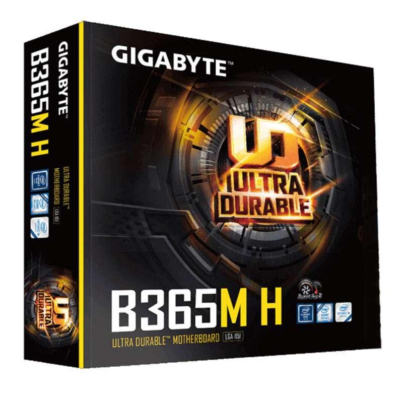 PL Mae Gigabyte B365M H (8&9 Ger. LGA 1151/DDR4/HDMI/Micro)