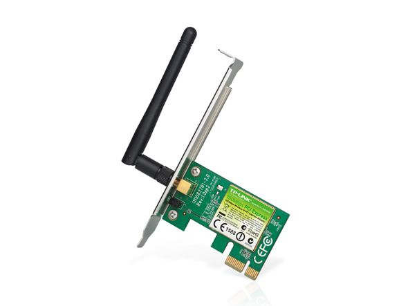 PLACA DE REDE TP-LINK PCI EXPRESS TL-WN781ND 150MBPS