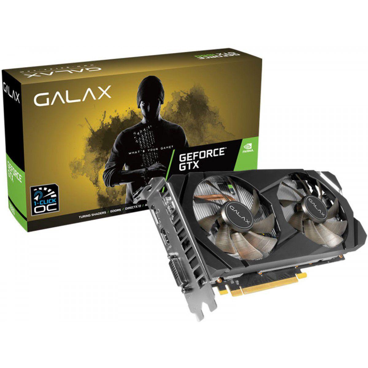 Placa De Video Geforce GTX NV Galax 1660 6GB