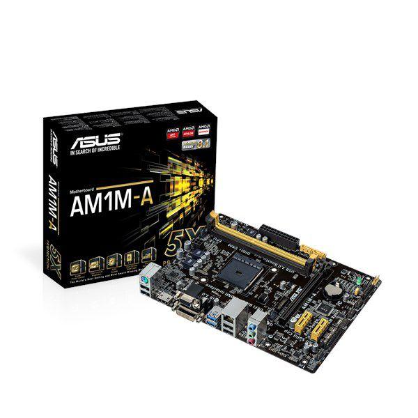 Placa Mae Asus AM1L-A AMD DDR3 | USB 3.0| HDMI| DVI