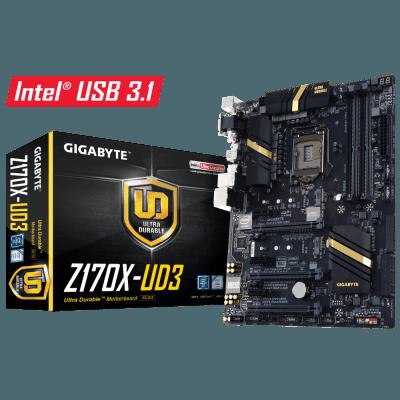 Placa Mae Gigabyte Ultra Durable Z170x-UD3 LGA 1151 DDR4