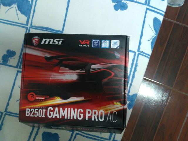 Placa Mae Msi B250I Gaming Pro| 1151 DDR4