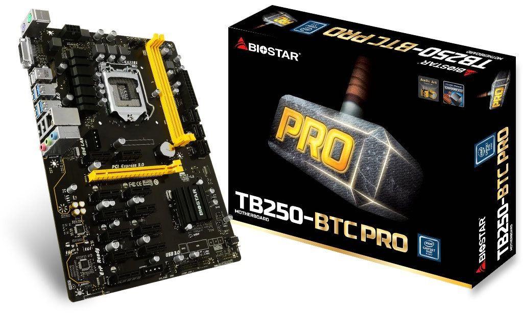 Placa Mae Para Mineracao Biostar Pro 1151 DDR4