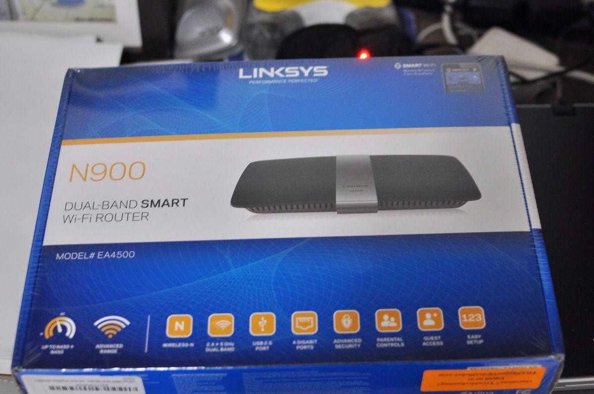 Roteador Linksys N900 Dual Band Smart EA4500