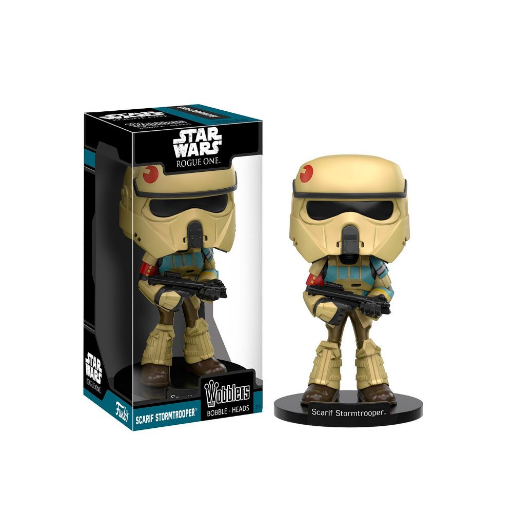 Scarif Stormtrooper Star Wars Rogue One Funko Wobbler