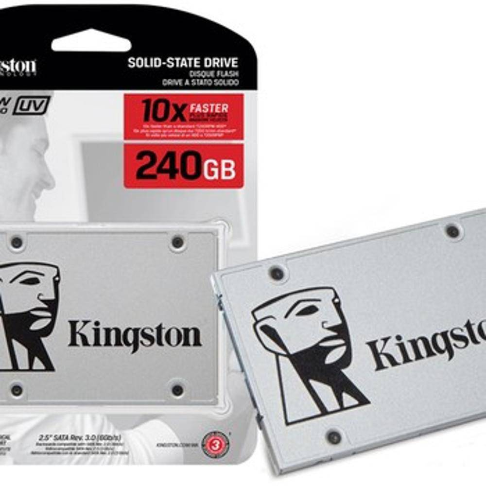 SSD 240GB Kingston SATA III UV400 Series