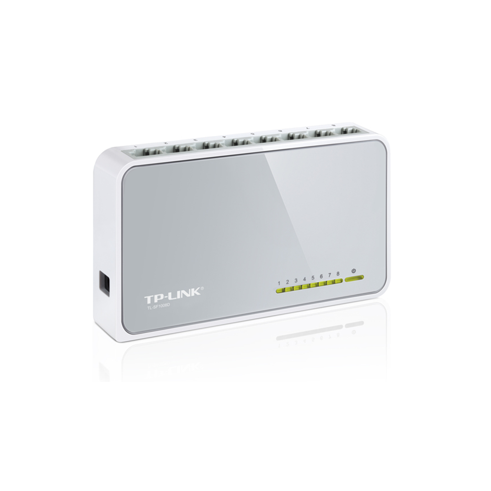 Switch TP-Link 8 Portas 10/100 TL-SF1008D