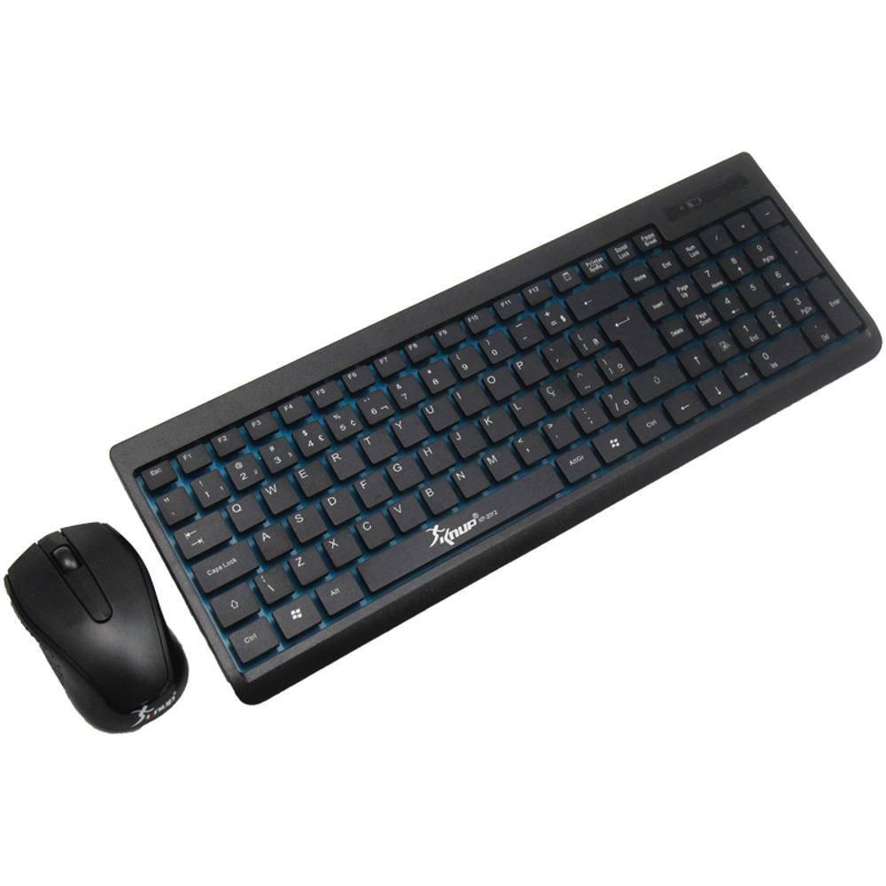 Teclado Sem Fio C/Mouse Knup