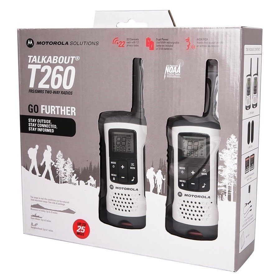 Walkie Talkie Motorola 40km Distancia 22 Canais