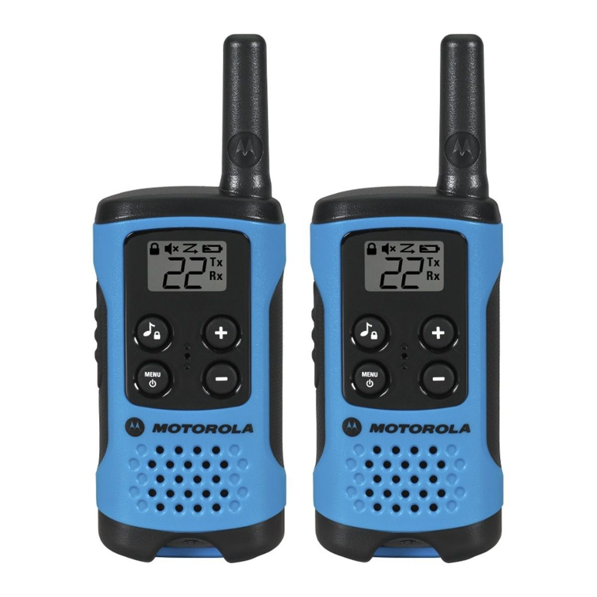 Walkie Talkie Motorola T100mc - 25km - 22 Canais