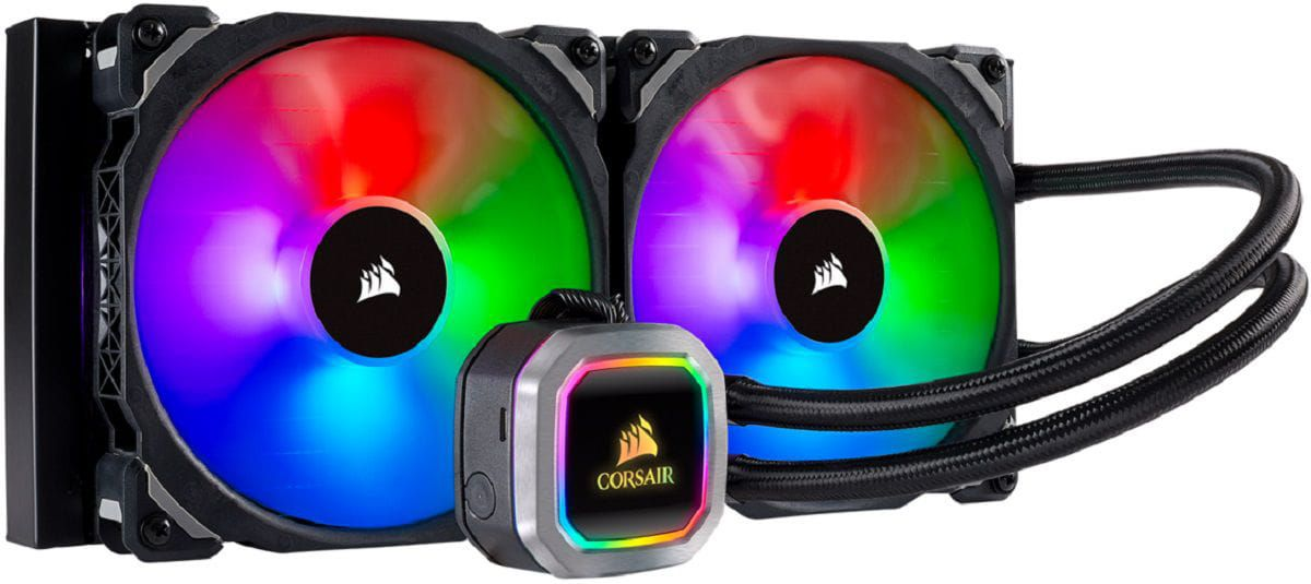 Water Cooler Corsair H115i 280mm RGB PLATINUM - PN # CW-9060038-WW