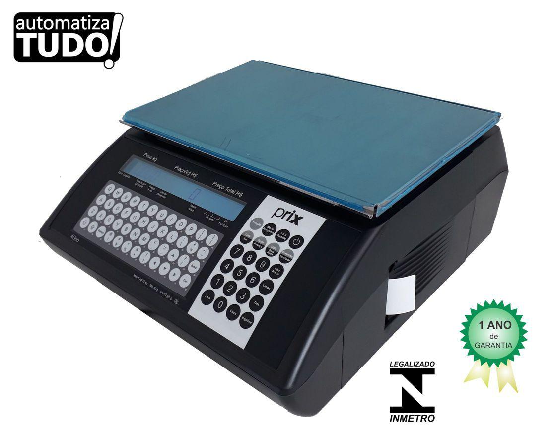 4d55576e2 Balança com Impressora Toledo Prix 4 Uno - AutomatizaTudo - Balanças ...