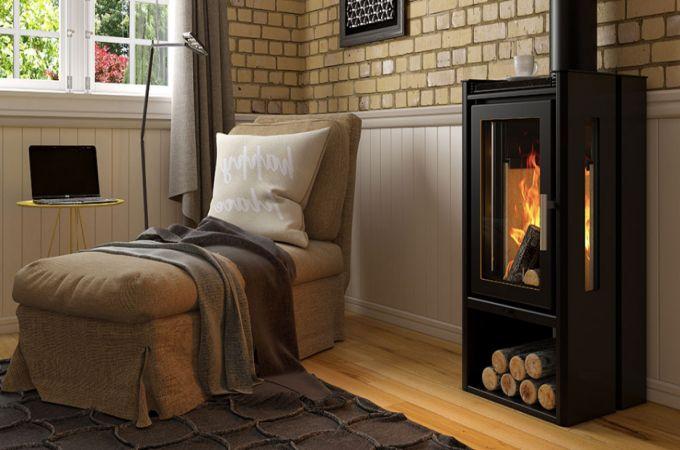 Calefator de Dupla Combustão Elegance LIV412