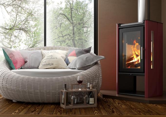 Calefator de Dupla Combustão Elegance LIV413