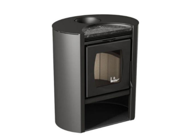 Calefator LIV450 de Dupla Combustão Elíptico  - Decorgrill - A certeza do melhor para o seu espaço gourmet!